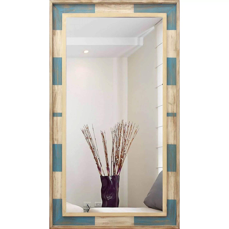 Espelho Rústico com Moldura Colorida Vários Tamanhos