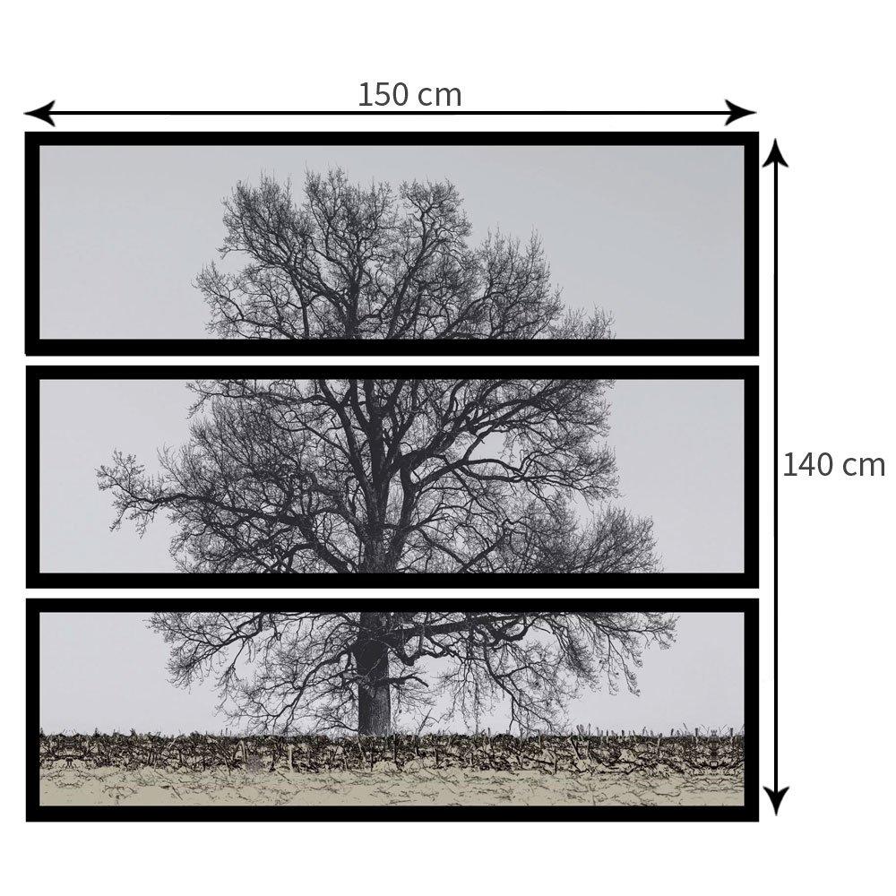Tamanho personalizável (Largura x Altura): 150x140 cm