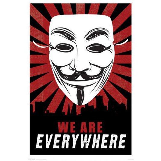 Gravura Poster para Quadros Anonymous 60x90cm