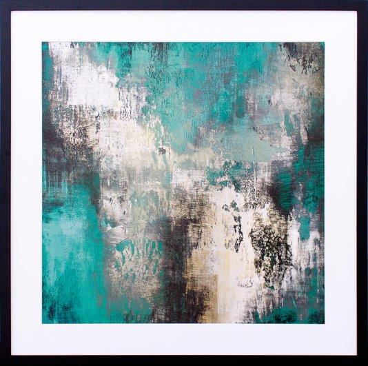 Quadro Decorativo Abstrato Arte II de Michael Marcon 75x75cm