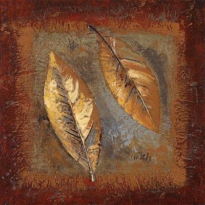Gravura para Quadros Rústicos Folhas 15x15cm