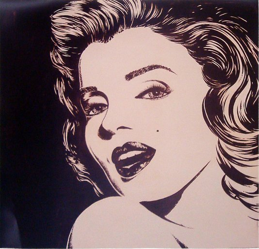 Gravuras para Quadros Marilyn Monroe 70x70cm