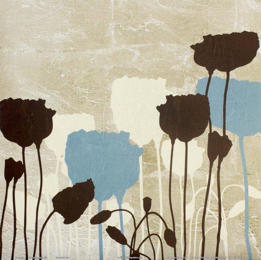 Gravura para Quadros Floral Simplicidade 30x30cm