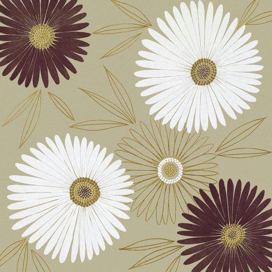 Gravura para Quadros Flores Vibrantes II - 50x50cm