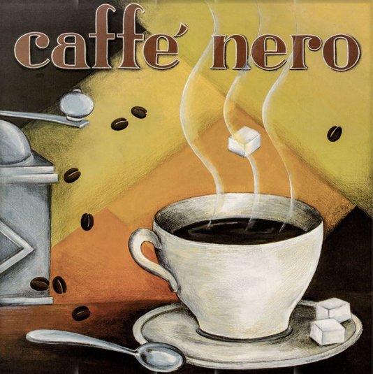 Gravura para Quadros Café Nero 40x40cm