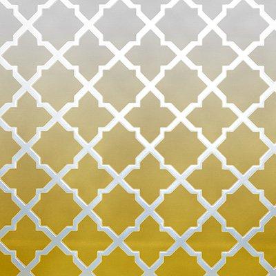 Gravura Abstrata para Quadros Rede Amarela II de Jairo Rodriguez 30x30cm