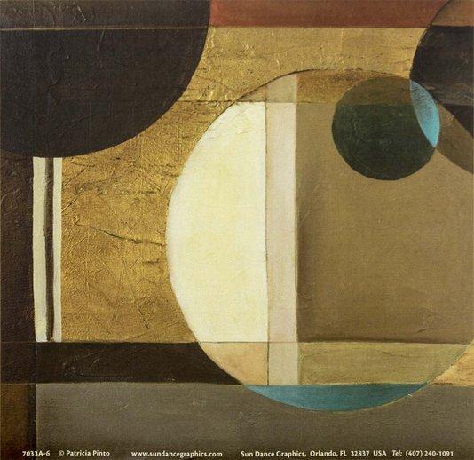 Gravura para Quadros Abstrato Bolas 15x15cm