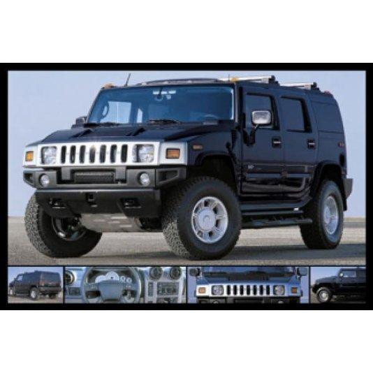 Gravura para Quadros Poster Jipe Hummer 90x60cm