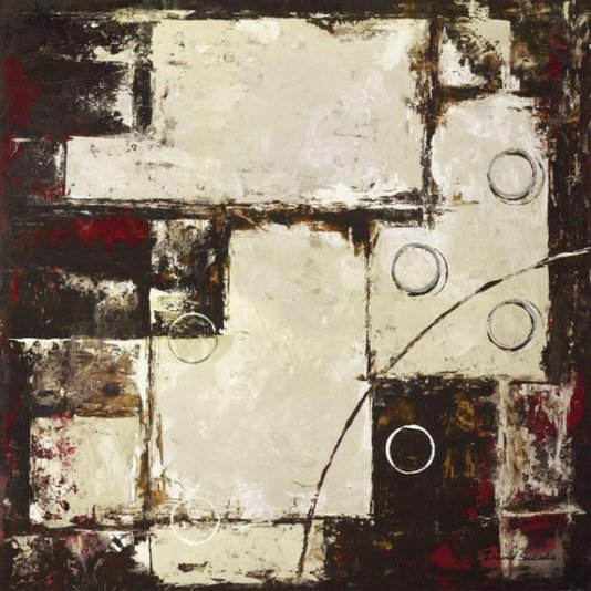 Gravura para Quadros Abstrato por David Sedalia 70x70cm