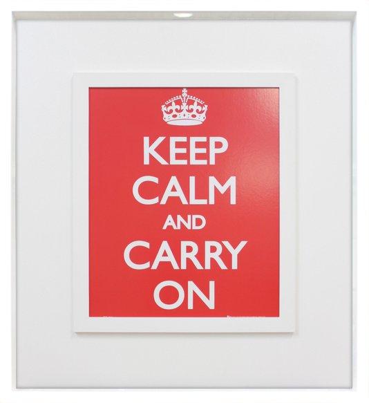 Quadro Porta Rolhas, Tampinhas Keep Calm and Carry On 70x80cm