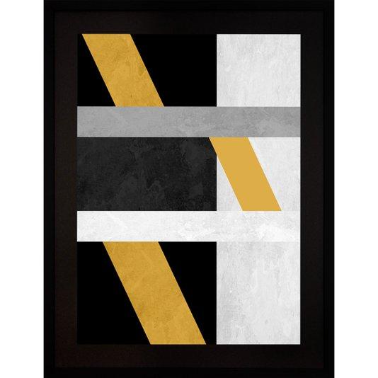 Quadro Abstrato Decor Formas Geométricas II 60x80cm