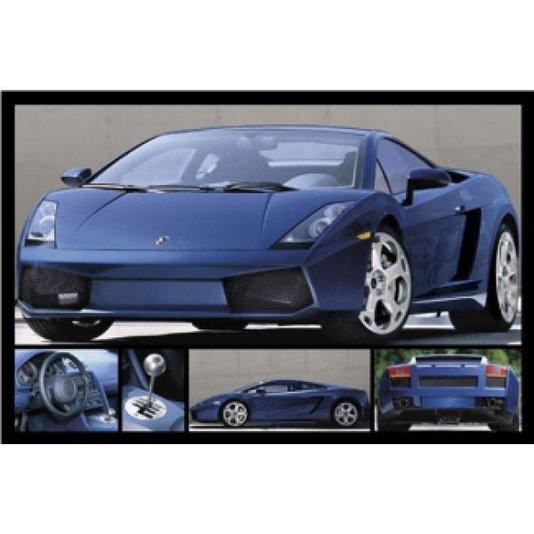 Gravura para Quadros Poster Carro Esportivo Lamborghini 90x60cm