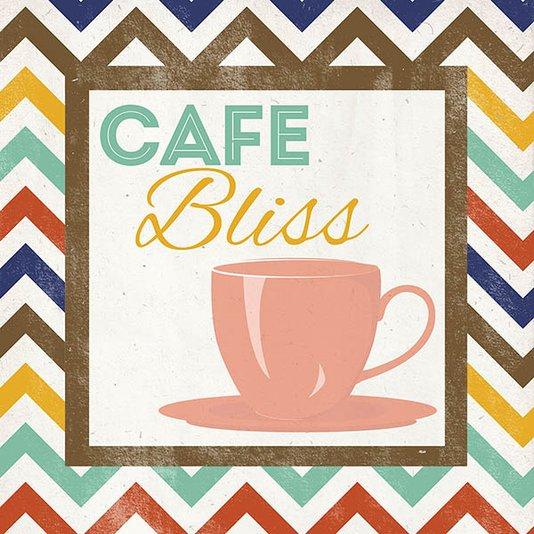 Gravura para Quadros Café Bliss 30x30cm