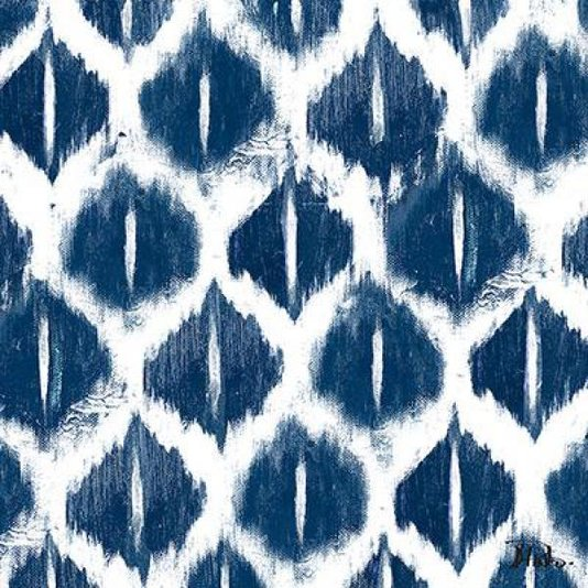 Gravura para Quadros Arte Abstrata Azul de Patricia Pinto 15x15cm
