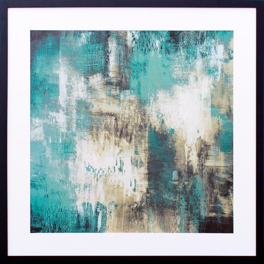 Quadro Decorativo Abstrato Arte I de Michael Marcon 75x75cm