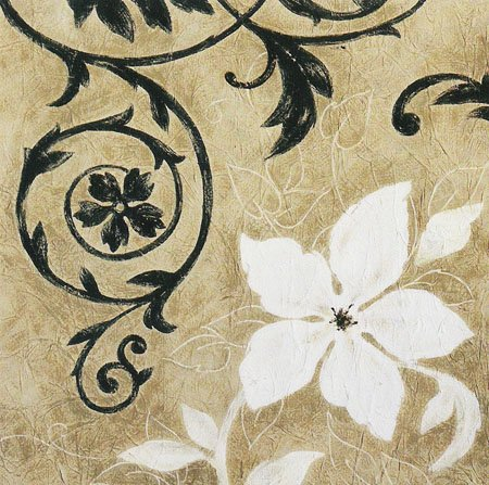 Gravura para Quadros Floral Charms 50x50cm