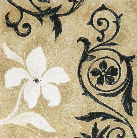 Gravura para Quadros Floral Charms I 50x50cm