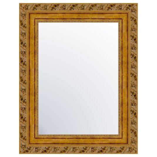 Espelho com Moldura Dourada Envelhecida - DP1443