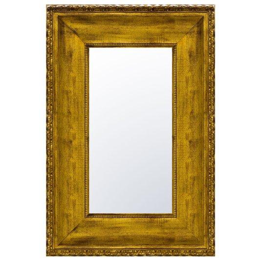 Espelho com Moldura Grande Ouro Envelhecido 150x250 cm