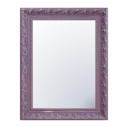 Espelho Cristal Decorativo Lilás Retrô Plus