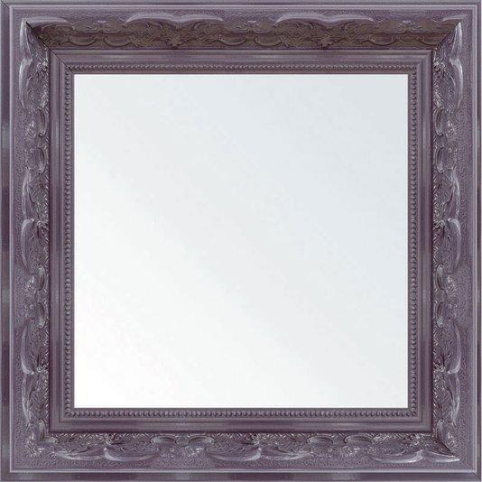 Espelho Decorativo com Moldura Lilás Retrô
