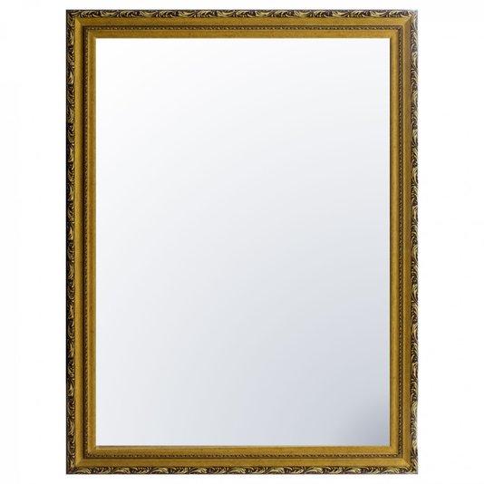 Espelho Cristal Decorativo Moderno Moldura na Cor Ouro