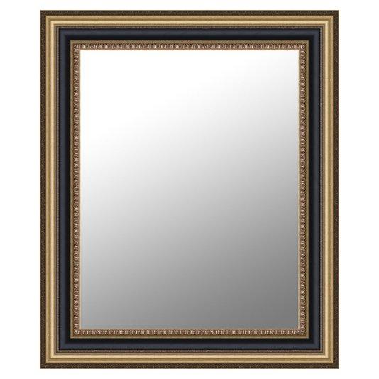 Espelho Grande Clássico Modelo Rei Luiz Moldura Dourada