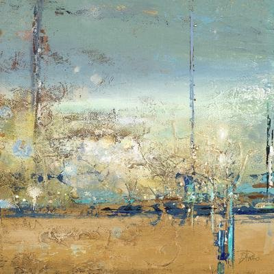 Gravura para Quadros Arte Abstrata I de Patricia Pinto 15x15cm