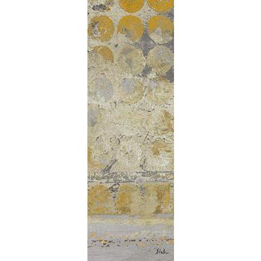 Gravura Abstrata para Quadros Arte de Patricia Pinto 15x45cm