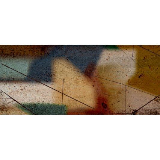 Gravura Abstrata para Quadros Pintura em Muro 70x30cm