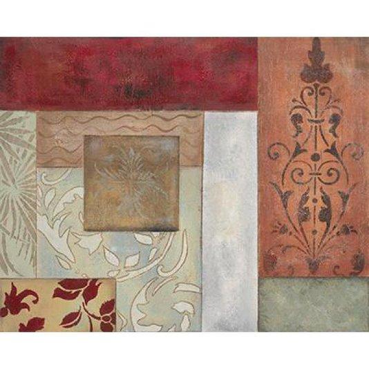 Gravura para Quadros Abstrato Madison I por Hakimipour Ritter 25x20cm