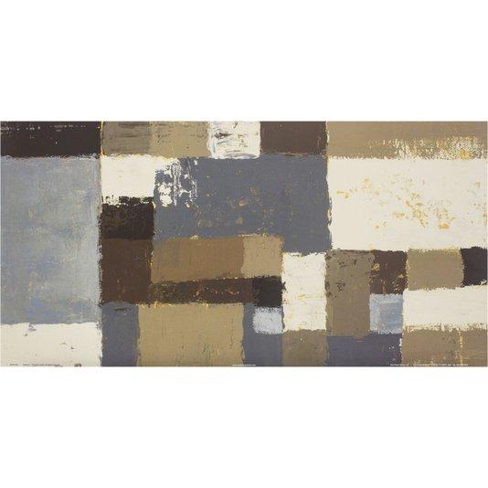 Gravura para Quadros Abstrato Sotão 60x30cm