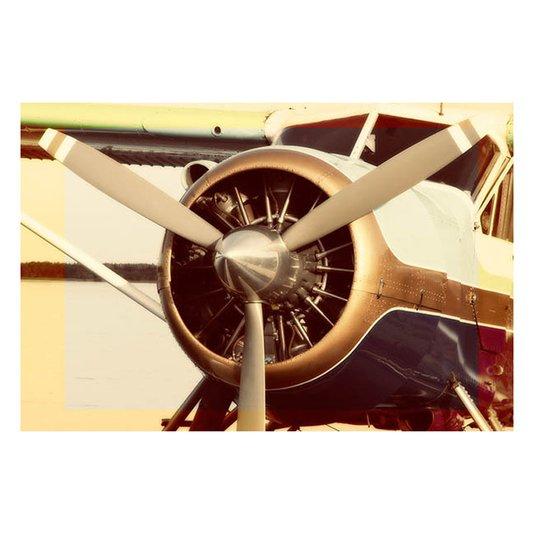 Gravura para Quadros Avião Monomotor 90x60cm