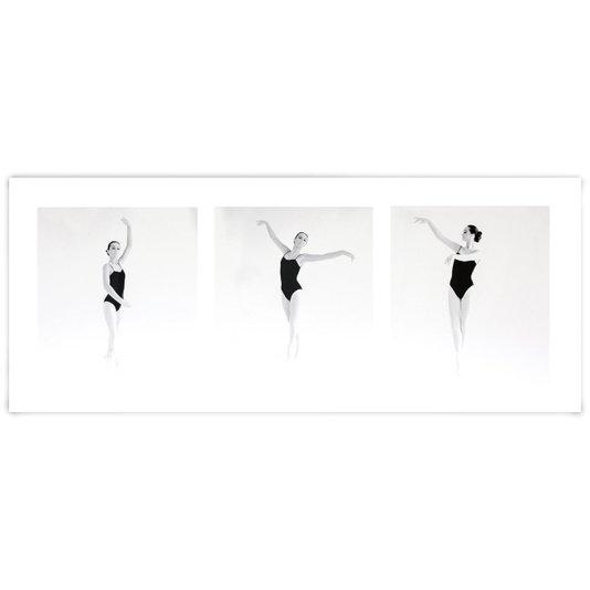 Gravura para Quadros Bailarina de Ballet 50x20cm