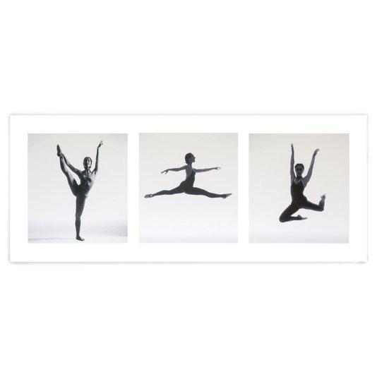 Gravura para Quadros Bailarina de Ballet II 50x20cm