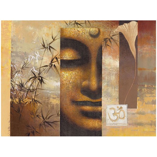 Gravura para Quadros Budista 80x60cm