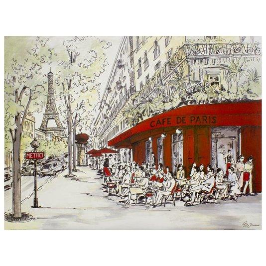 Gravura para Quadros Café de Paris 80x60cm