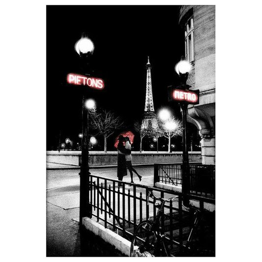 Gravura para Quadros Cidade Casal em Paris 60x90cm