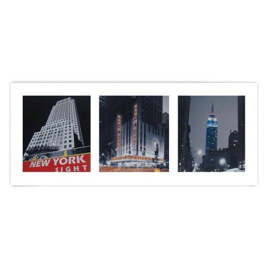 Gravura para Quadros Cidades Nova York 50x20cm