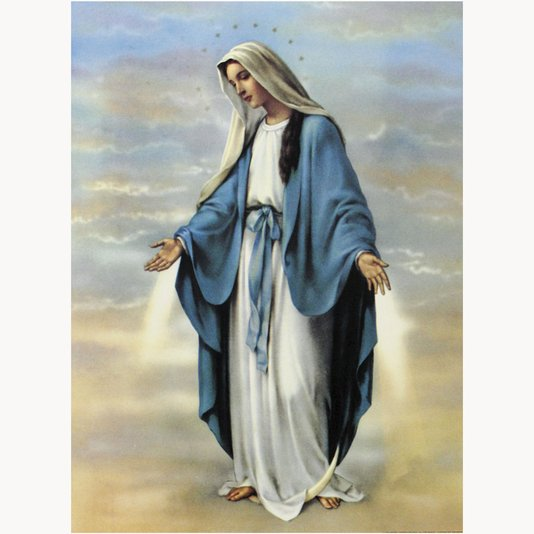 Gravura para Quadros da Nossa Senhora da Medalha Milagrosa 50x70cm