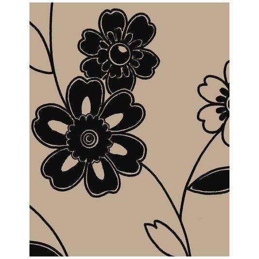 Gravura para Quadros Desenho de Flores III - 20x25cm