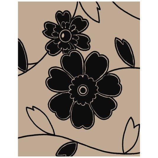 Gravura para Quadros Desenho de Flores IV - 20x25cm