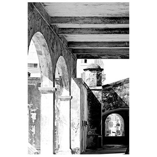 Gravura para Quadros em Preto e Branco Arquitetônica 30x40cm