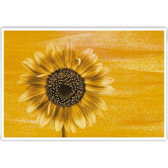 Gravura para Quadros Floral Girassol 140x95cm
