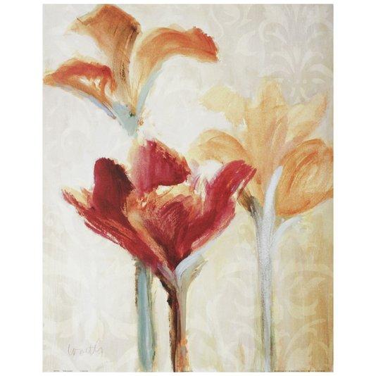 Gravura para Quadros Floral Verão sem Fim 56x71cm