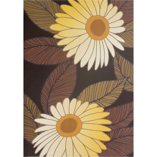Gravura para Quadros Flores Douradas 50x70cm