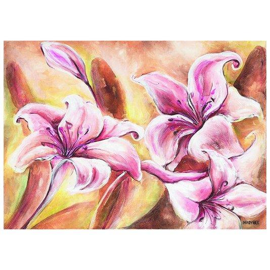 Gravura para Quadros Flores Rosas 70x50cm