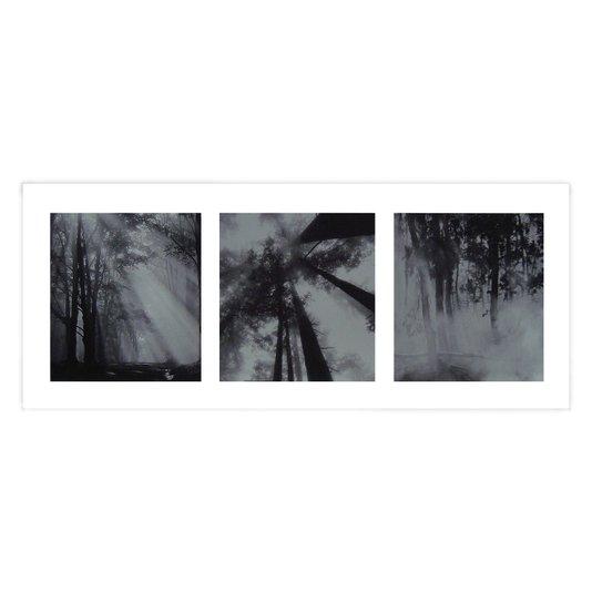 Gravura para Quadros Floresta Encantada 50x20cm