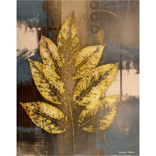 Gravura para Quadros Folha de Ouro II - 40x50cm