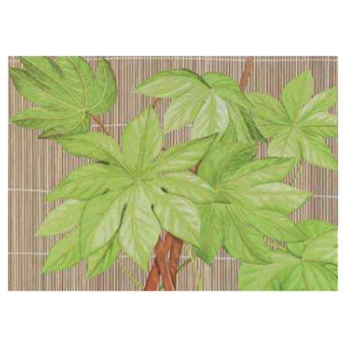 Gravura para Quadros Folhas Verdes 70x50cm